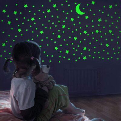 Glow in The Dark Realistic Stars