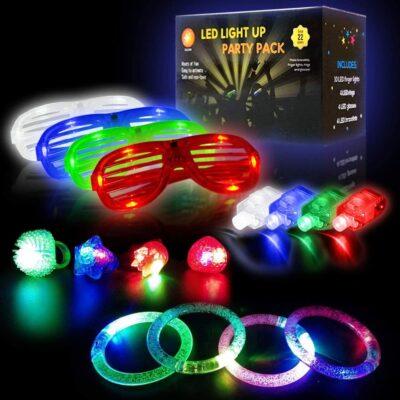22 Pcs Glow Party Favors