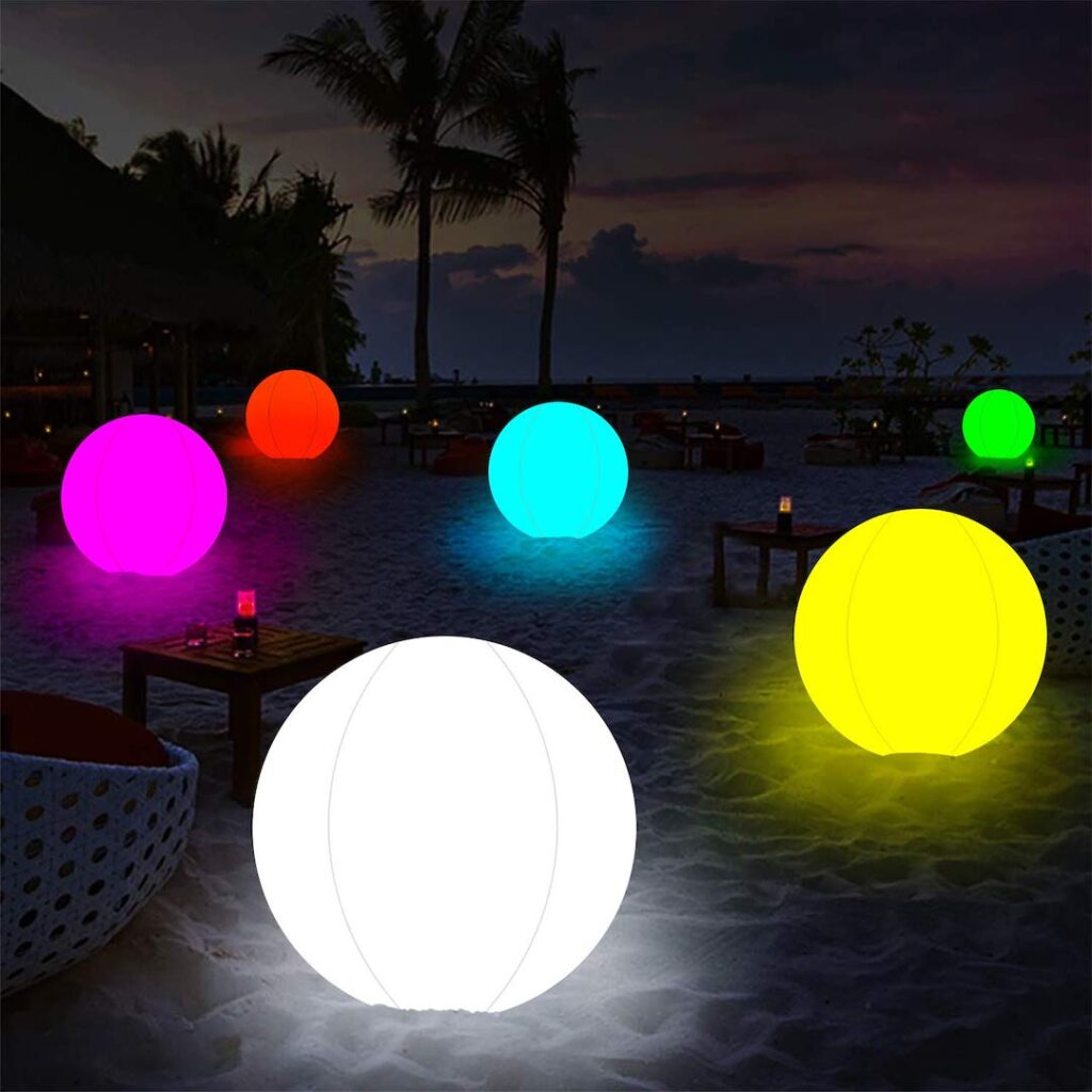 Huge Glow Inflatable Ball with Remote