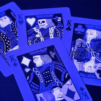 Glowing Playing Cards