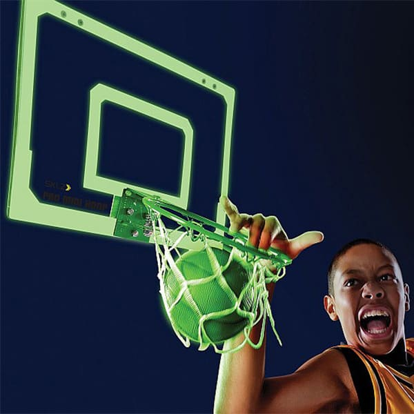 Indoor Glow Mini Basketball Hoop