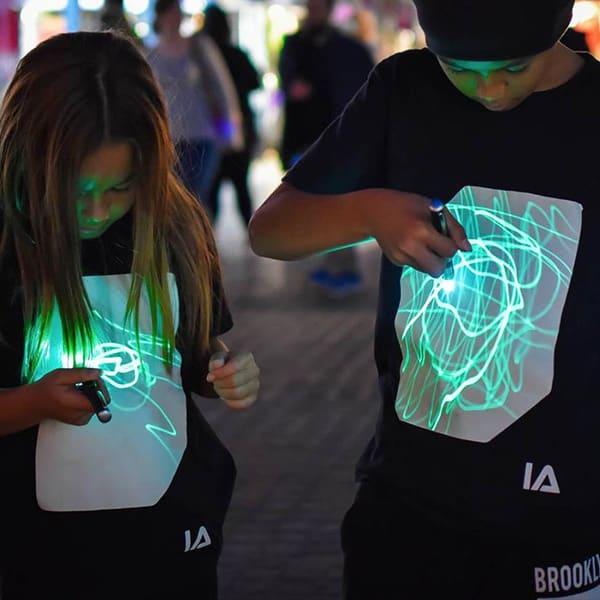 Interactive Glow T-shirt