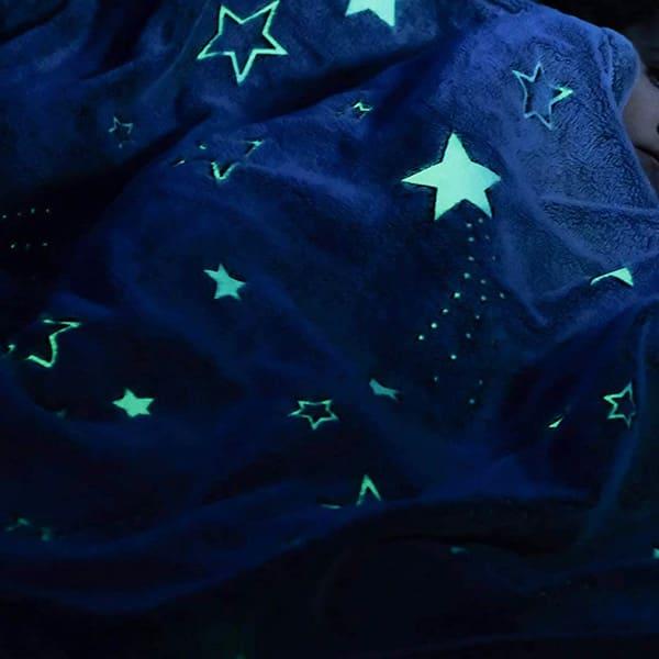 Starry Glow in The Dark Blanket