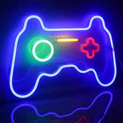 Gamepad Neon Sign Light