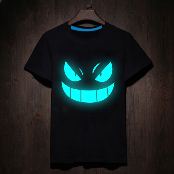 Glow Evil Smile T-Shirts