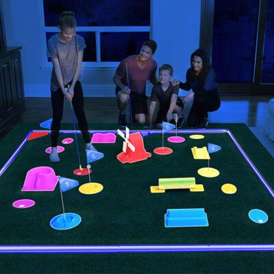 Glow In The Dark Mini Golf Course