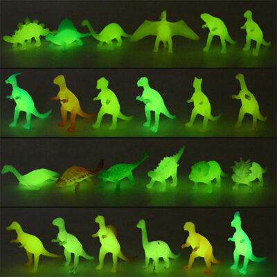Glow in Dark Mini Dinosaurs