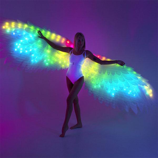 LED Light Up Angel Wings