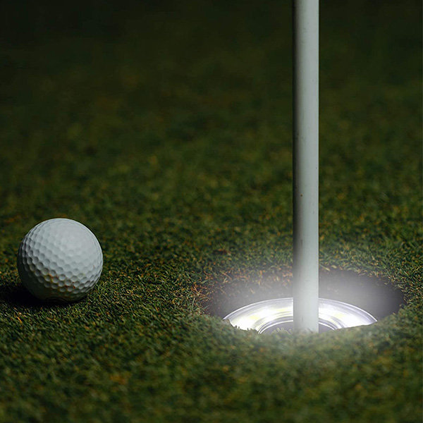 LED Light Up Night Golf Putting Cup