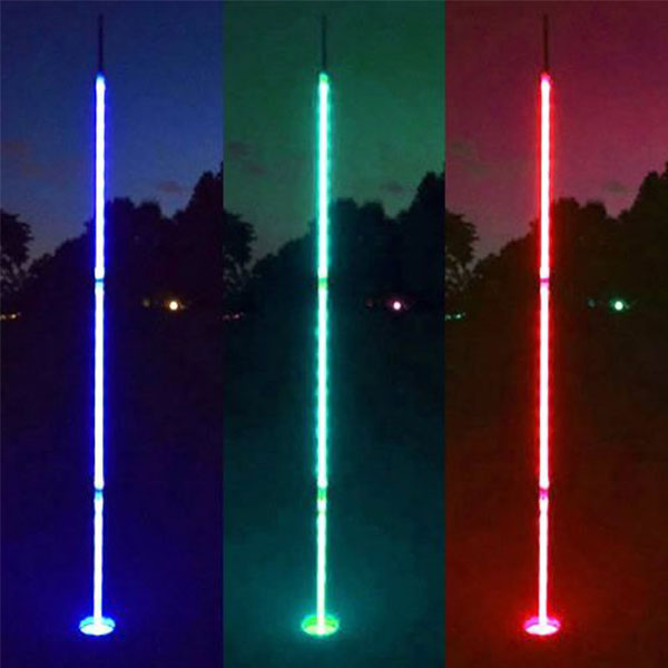 Light Up Night Golf Flags