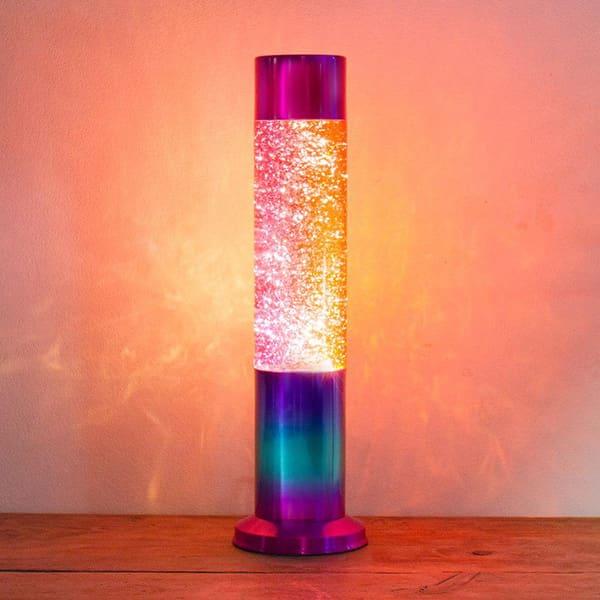 Rainbow Glitter Lava Lamp