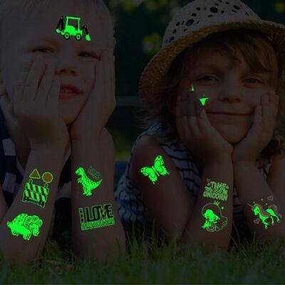 Temporary Glow Tattoos