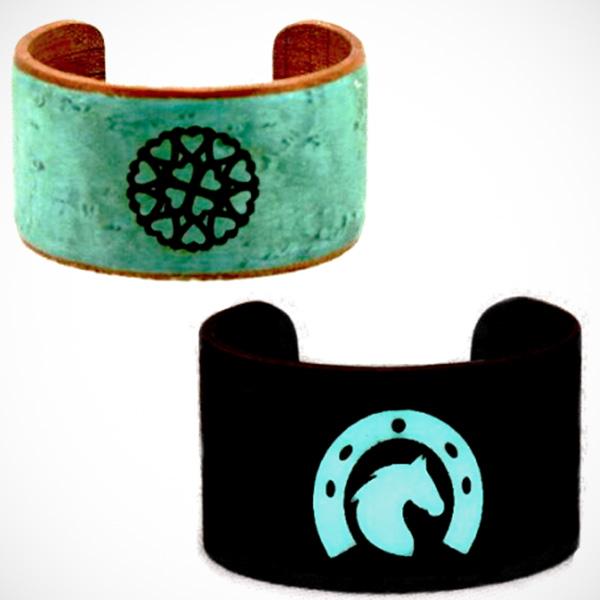 Wooden Bracelets That Glow In The Dark