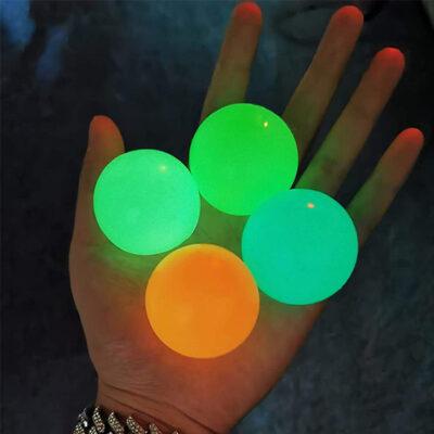 Glow Sticky Wall Balls