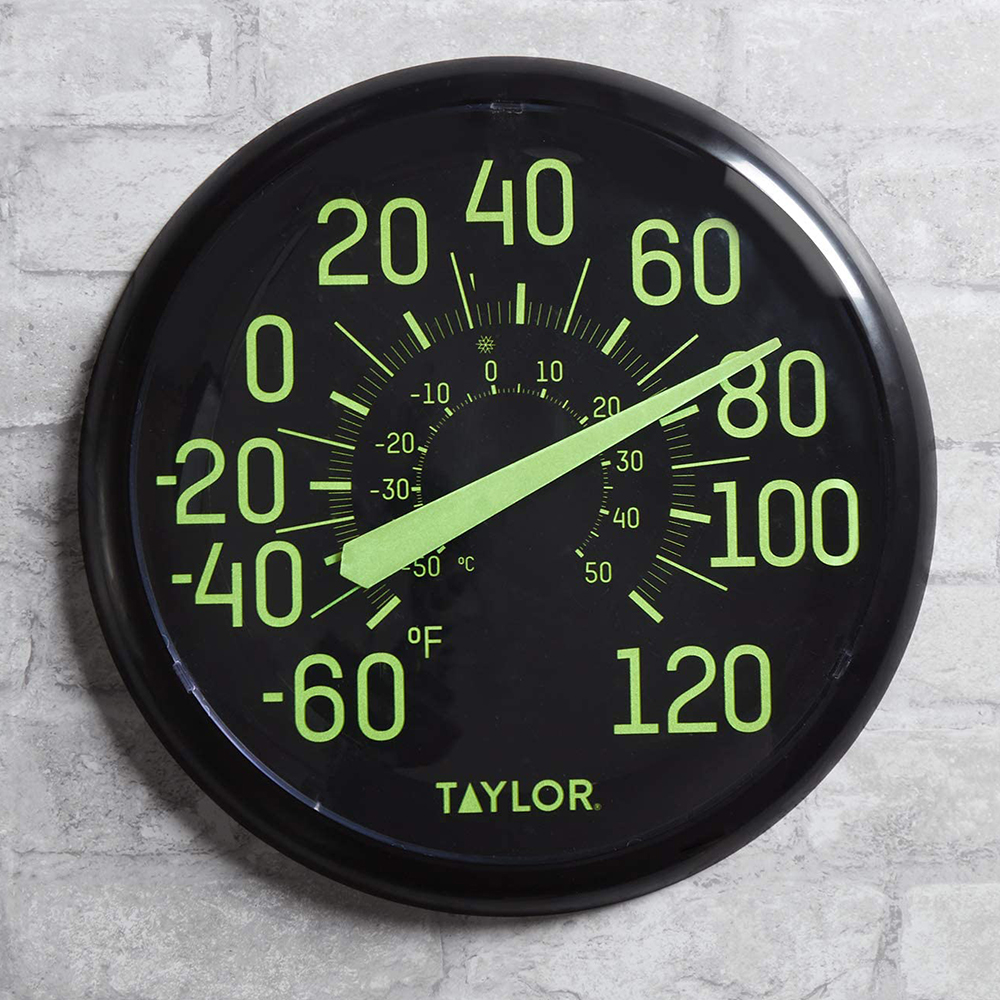 Glow in The Dark Dial Thermometer